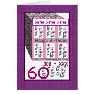 60 geburtstag der schwester