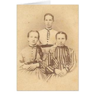 Schwestern Notecard Karte