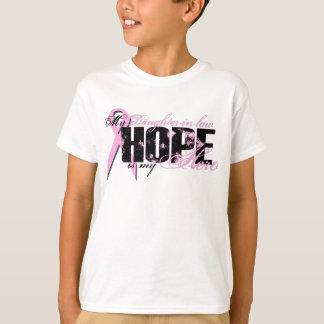 Schwiegertochter mein Held - Brustkrebs-Hoffnung T-Shirt