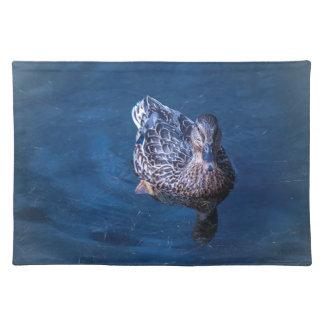 Schwimmen-Ente Tischset