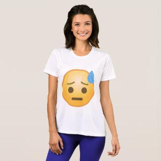 Schwitzen von Emoji T-Shirt