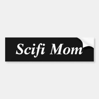 Scifi-Mamma Autoaufkleber