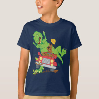 Scooby Doo Dinosaurier Attack1 T-Shirt