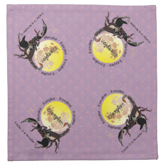 Scorpio October 24 to November 22 Cloth Napkins Serviette