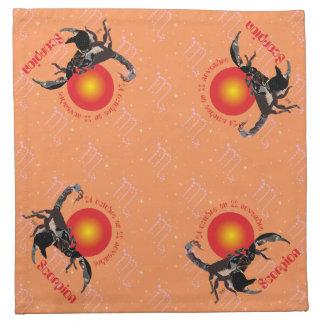 Scorpion Serviettes en tissu Serviette
