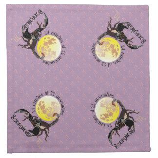 Scorpione Tovaglioli di stoffa Stoffserviette