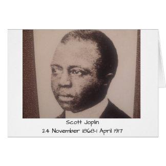 Scott Joplin Karte