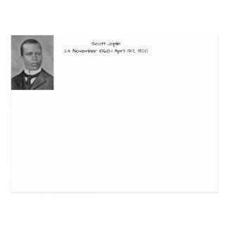 Scott Joplin Postkarte