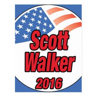 Scott-Wanderer für Präsidenten im Jahre 2016 Postkarte