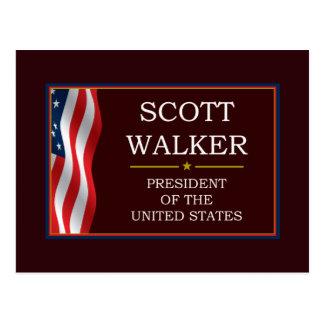 Scott-Wanderer für Präsidenten V3 Postkarte