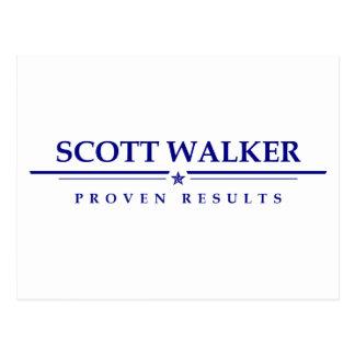 Scott-Wanderer: Nachgewiesene Ergebnisse Postkarte