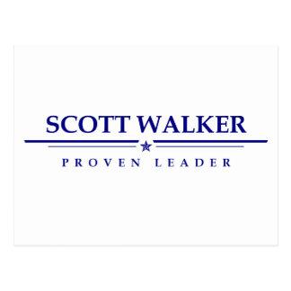 Scott-Wanderer: Nachgewiesener Führer Postkarte