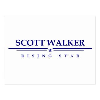 Scott-Wanderer: Steigender Stern Postkarte