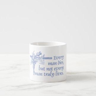 Scottish-Zitat, Sir William Wallace, Distel-Tasse Espressotassen