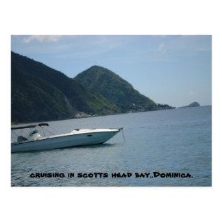 scotts Hauptdominica Postkarte