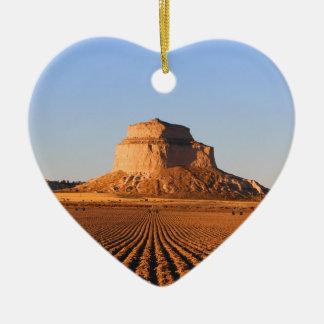 Scottsbluff Nebraska, das Keramik Ornament