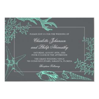 Seafoam Green and Gray Coastal Wedding