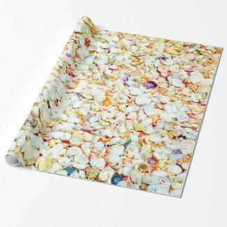 Seashell-Packpapier Geschenkpapier