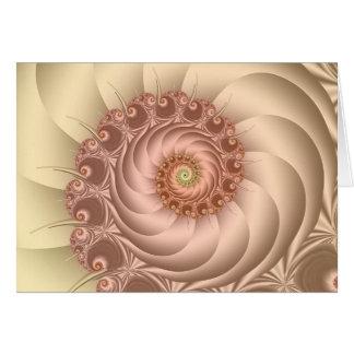 Seashells Karte