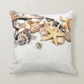 Seashells-Kissen Zierkissen