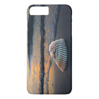 Seashellsonnenuntergang iPhone/Galaxiekasten iPhone 7 Plus Hülle
