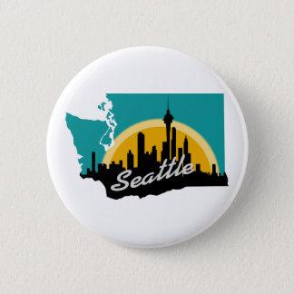 Seattle Runder Button 5,1 Cm