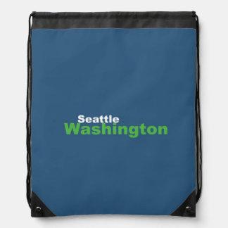 Seattle, Washington Drawstring-Rucksack Turnbeutel