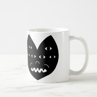 Sechs Augen Kaffeetasse