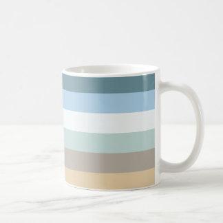 Sechs Farbe kombiniert Tasse