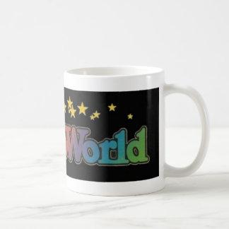 Sechs Flaggen Astroworld Vergnügungspark Kaffeetasse