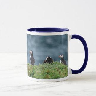Sechs Puffins-Tasse Tasse
