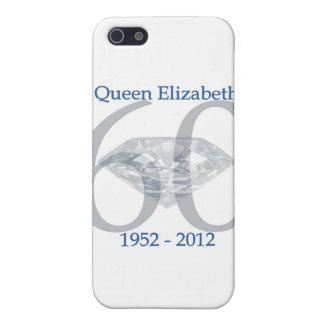 Sechzigjähriges Jubliäum der Königin-Elizabeth iPhone 5 Etui