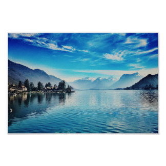 See Annecy - Baie de Talloires Poster