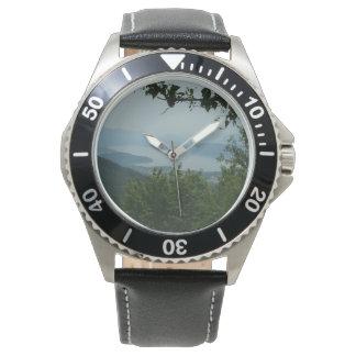 See-Ansicht-Uhr Armbanduhr