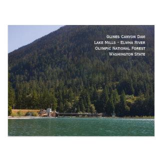 See-Mühlen und Glines Postkarte