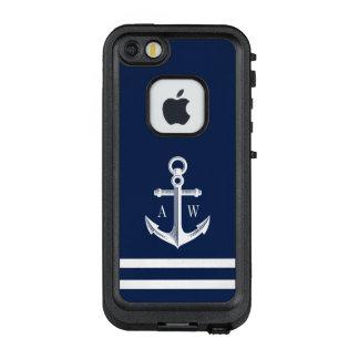 Seeanker-Gewohnheits-Marine LifeProof FRÄ' iPhone SE/5/5s Hülle