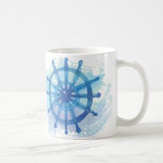 Seeanker-Kaffee-Tasse Tasse