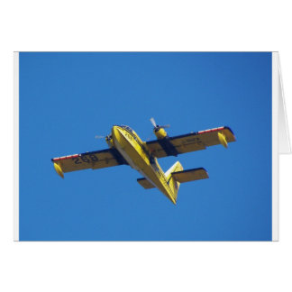 Seeflugzeug Grußkarte