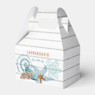 SeeGastgeschenk Hochzeits-Kasten des strand-| Geschenkschachtel