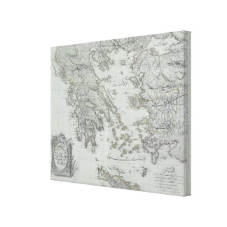 Seekarte Gespannter Galeriedruck