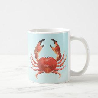 Seeküstenmeeresfrüchte-Krabbe Kaffeetasse