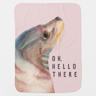 Seelöwe-Illustration | addieren Ihren lustigen Puckdecke