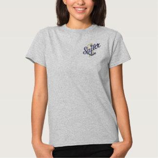 Seemann-Anker Besticktes T-Shirt