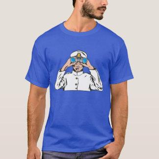 Seemann auf Uhr T-Shirt