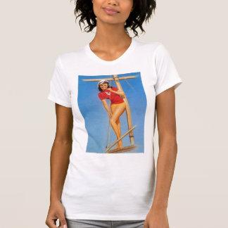 Seemann-Mädchen T-Shirt