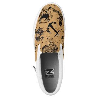 Seemann Tats Slip-On Sneaker