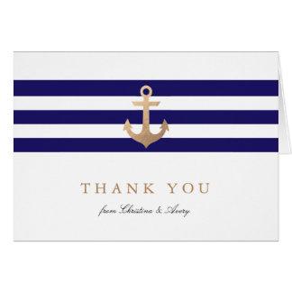 Seemarine danken Ihnen Karten