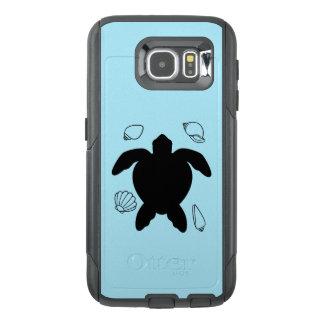 Seeschildkröte mit Muscheln
