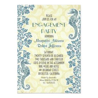 SeeSeepferd-Verlobungs-Party Einladung