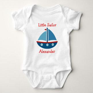 SeeSegelbootbabybodysuit für kleinen Seemann Baby Strampler